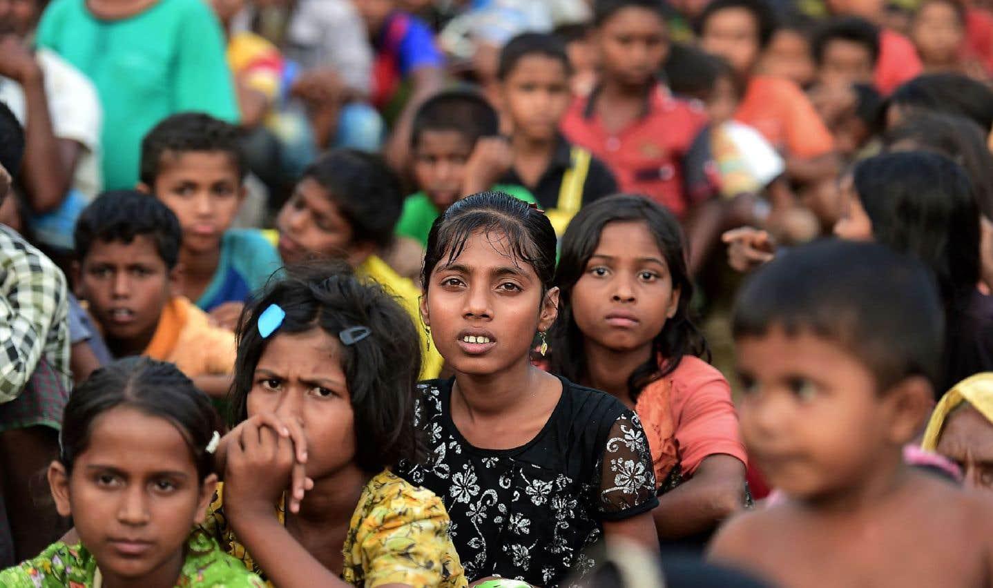 Le silence, puis les propos incendiaires d'Aung San Sui Kyi face aux Rohingyas