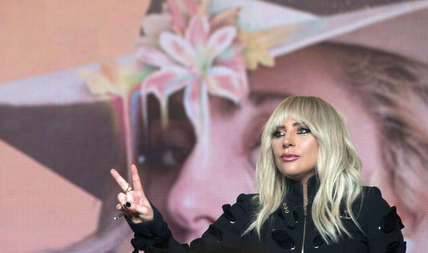 Lady Gaga et son double au TIFF