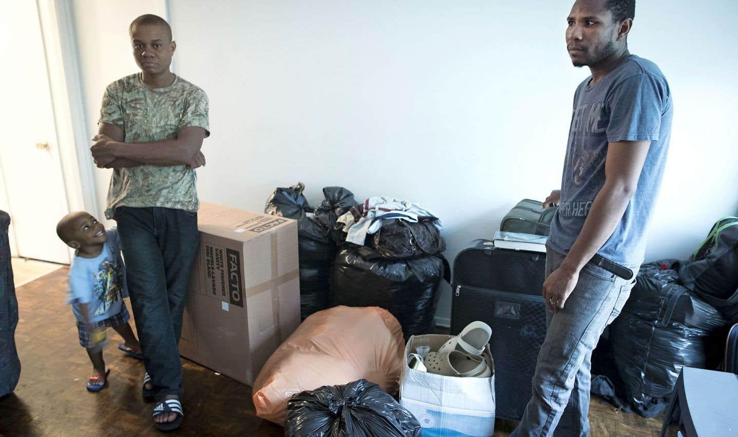 Des familles de demandeurs d'asile ont traversé les Amériques à pied pour gagner le Canada
