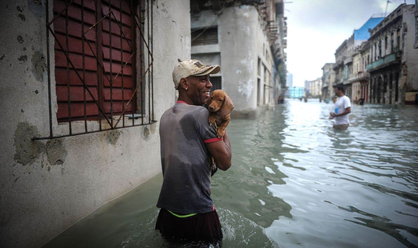 «Irma» a provoqué des inondations jusqu'à La Havane.