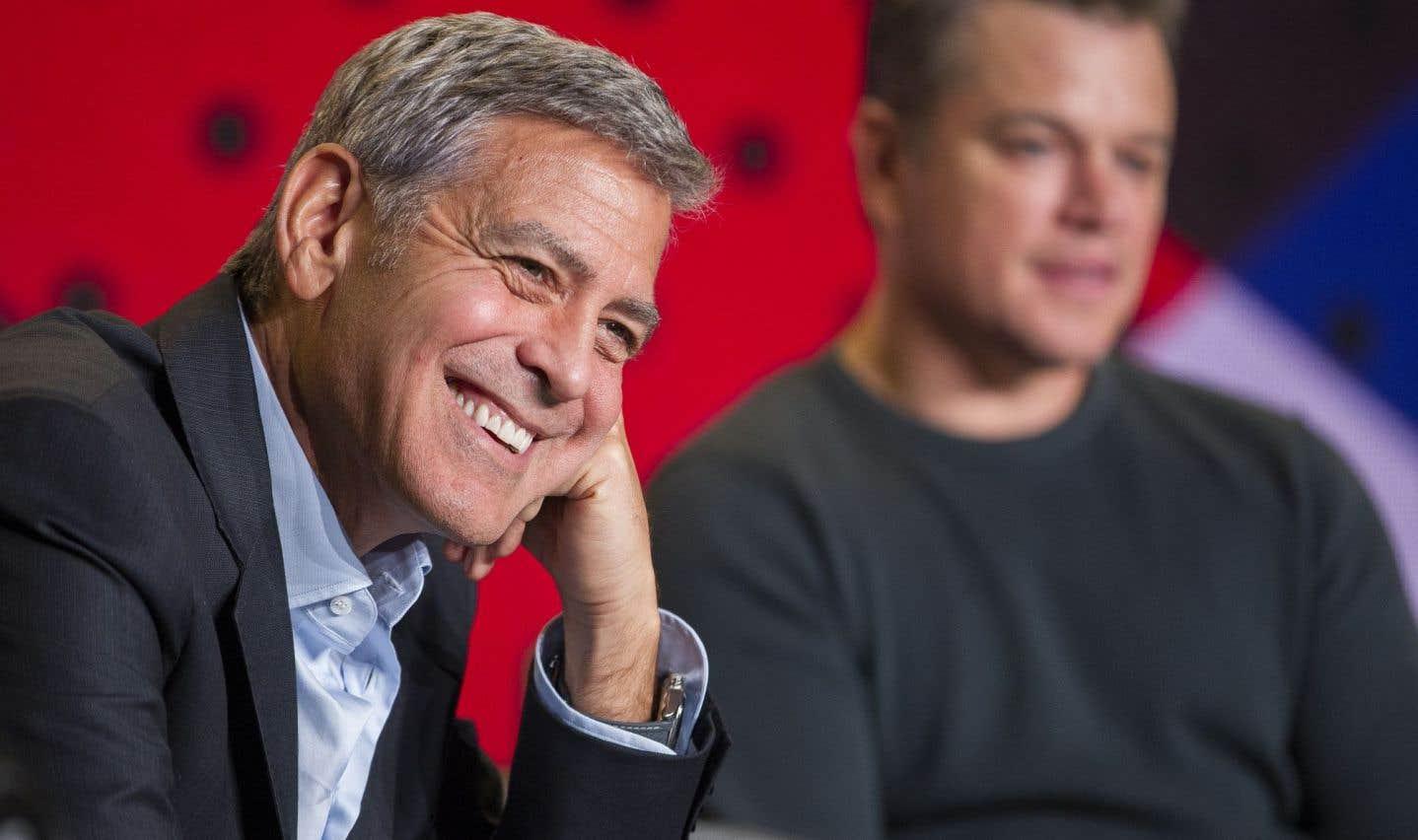 Clooney entre deux eaux au TIFF