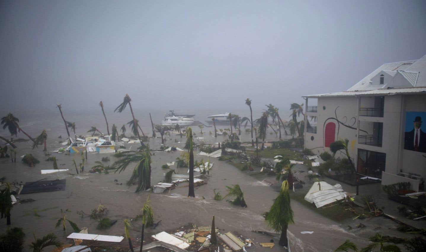 L'ouragan «Irma», vécu de l'intérieur