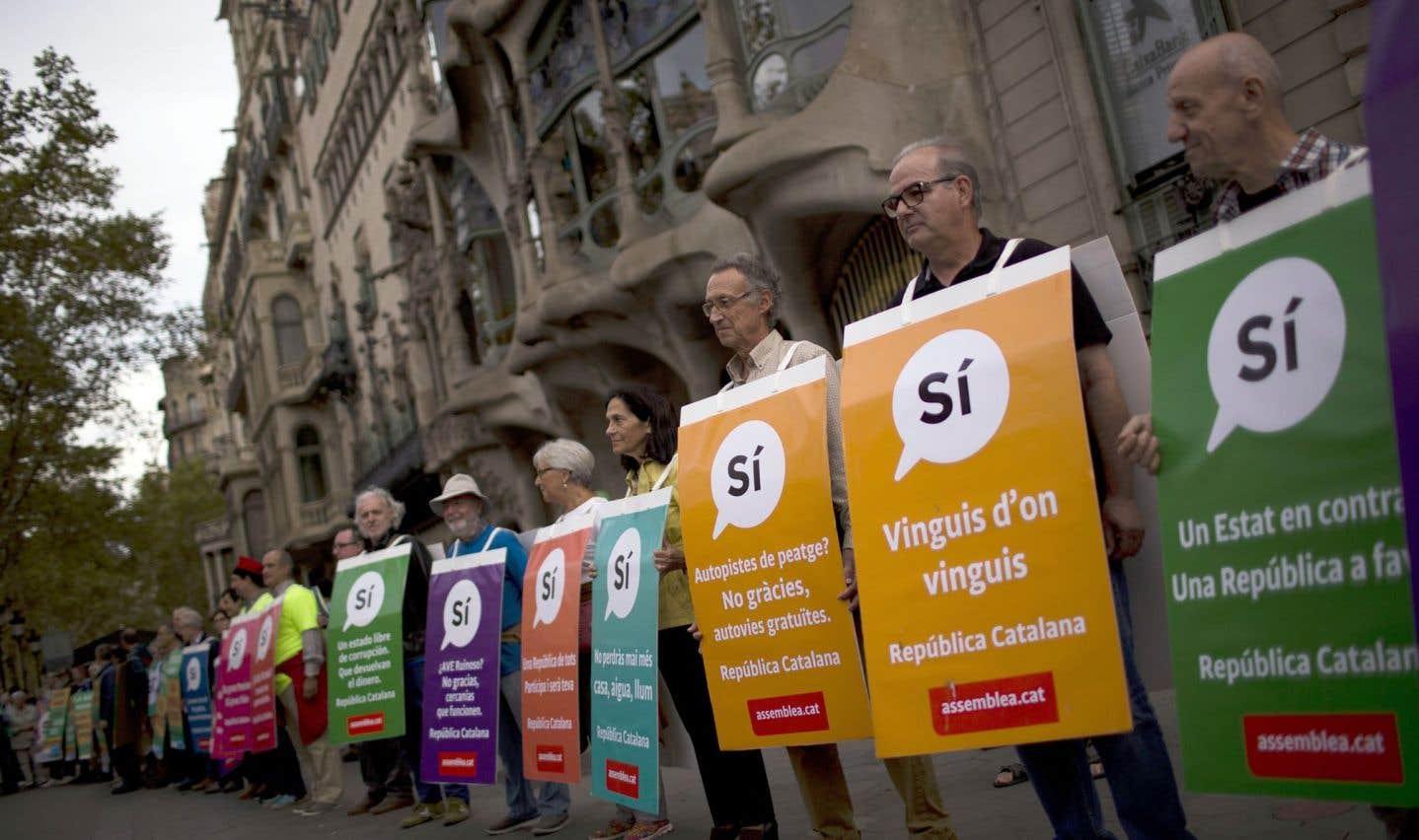 Catalogne: importante saisie de matériel en vue du référendum