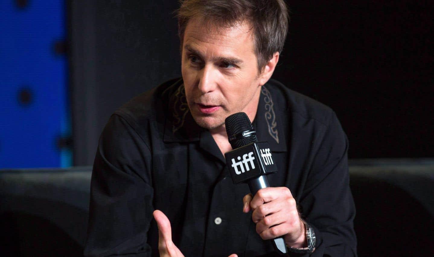 L'acteur Sam Rockwell du filmThree Billboards Outside Ebbing, Missouri auToronto International Film Festival.