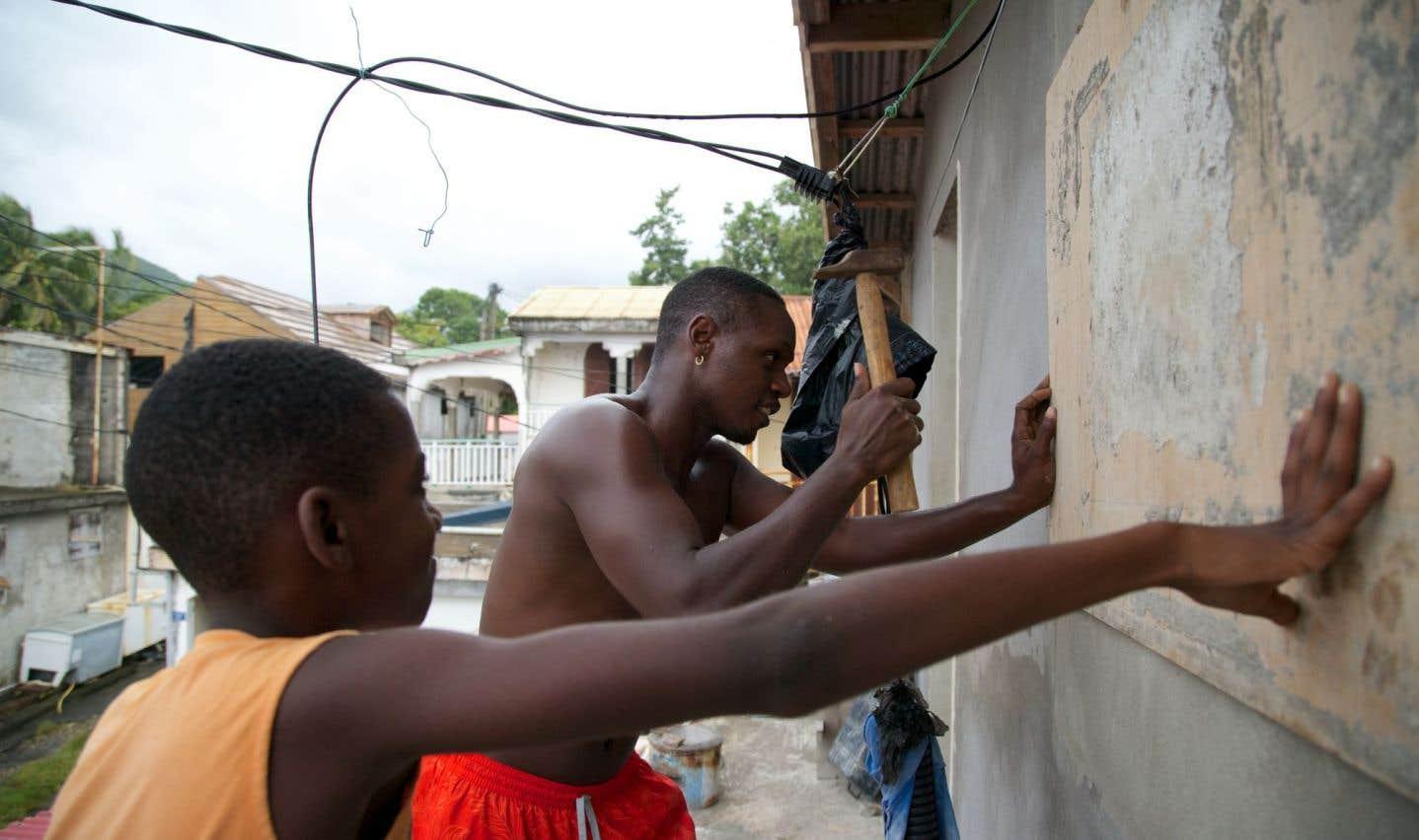 La Guadeloupe a été passée en alerte rouge cyclonique.