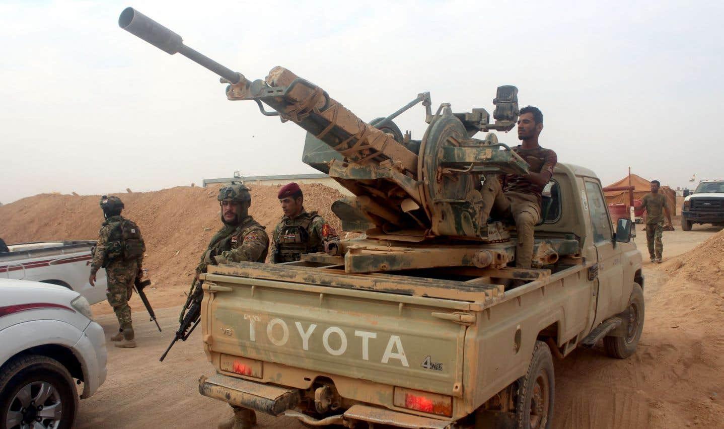 Les forces irakiennes avancent vers un fief du groupe EI