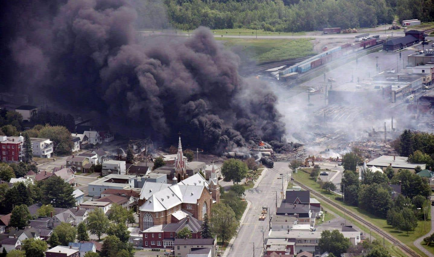 Lac-Mégantic n'est pas à l'abri d'un nouvel accident ferroviaire