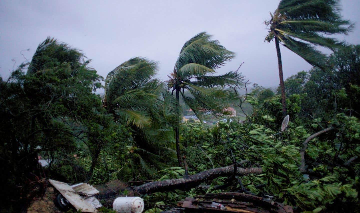 Déjà ravagée par le cyclone «Irma» il y a une dizaine de jours, toute la région a été mise en état d'alerte avant le passage de «Maria».