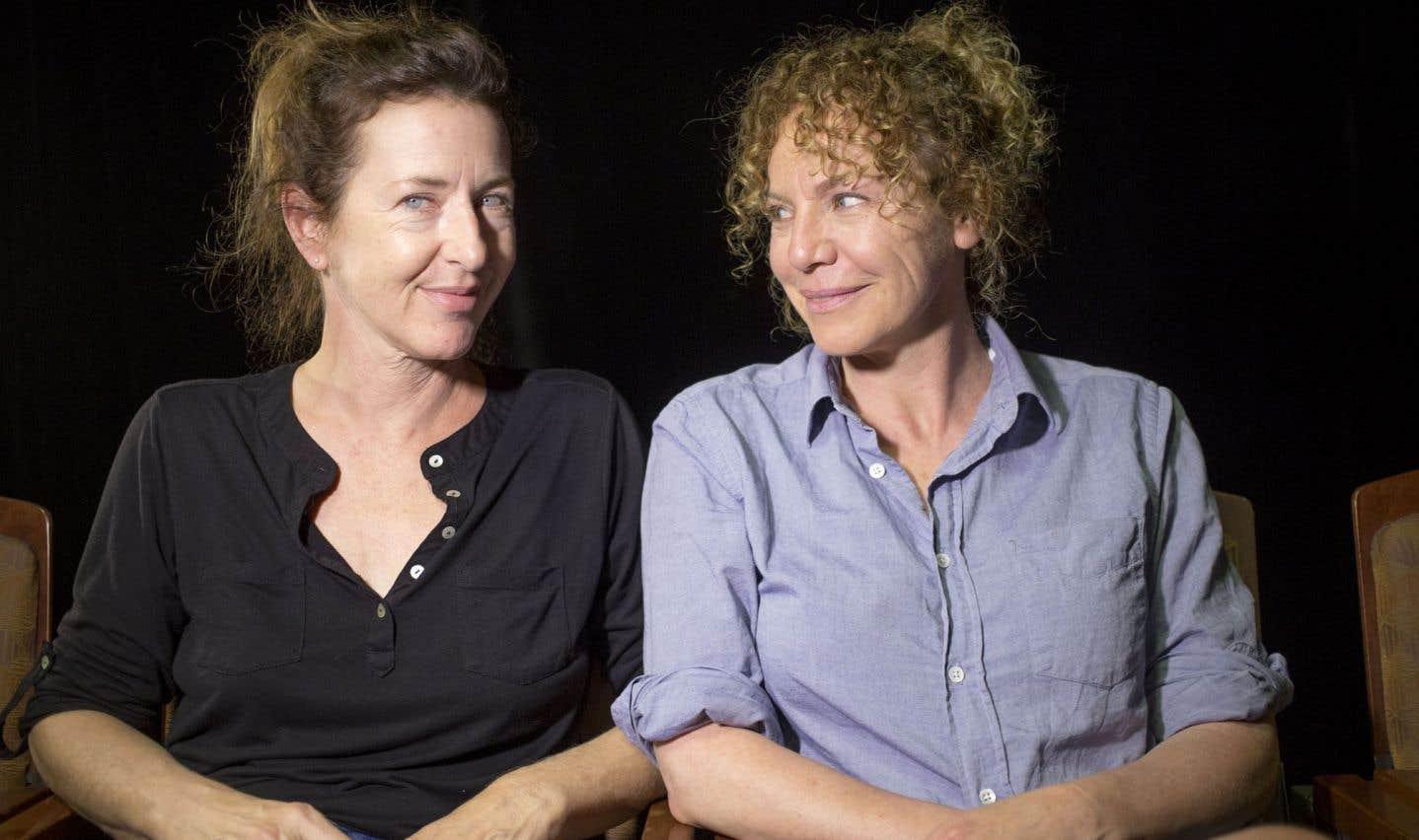 Marie-France Lambert et Macha Limonchik s'attaquent à la pièce «Je disparais» du Norvégien Arne Lygre.