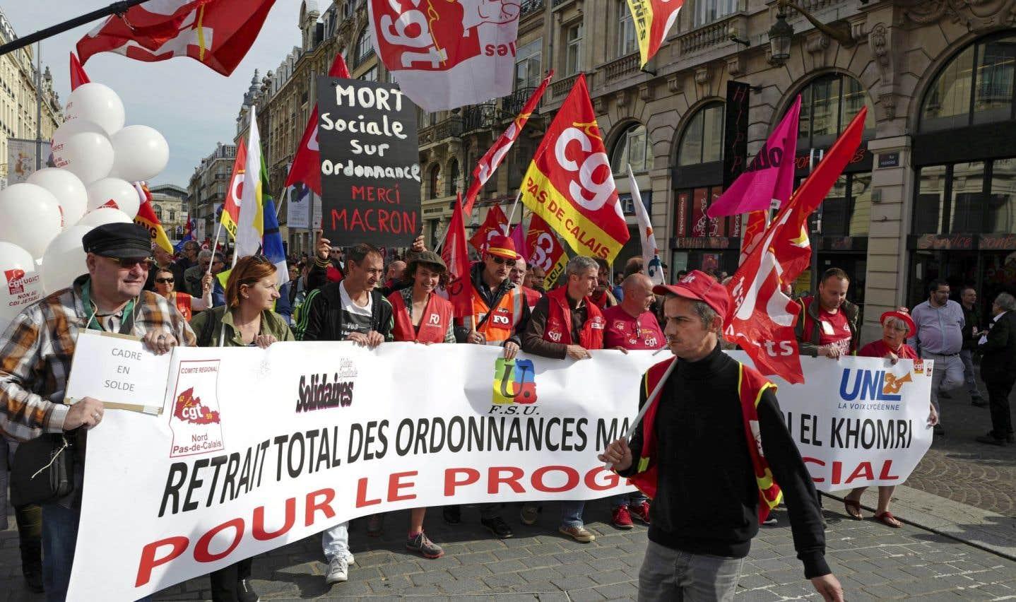 La mobilisation faiblit contre la réforme du droit du travail