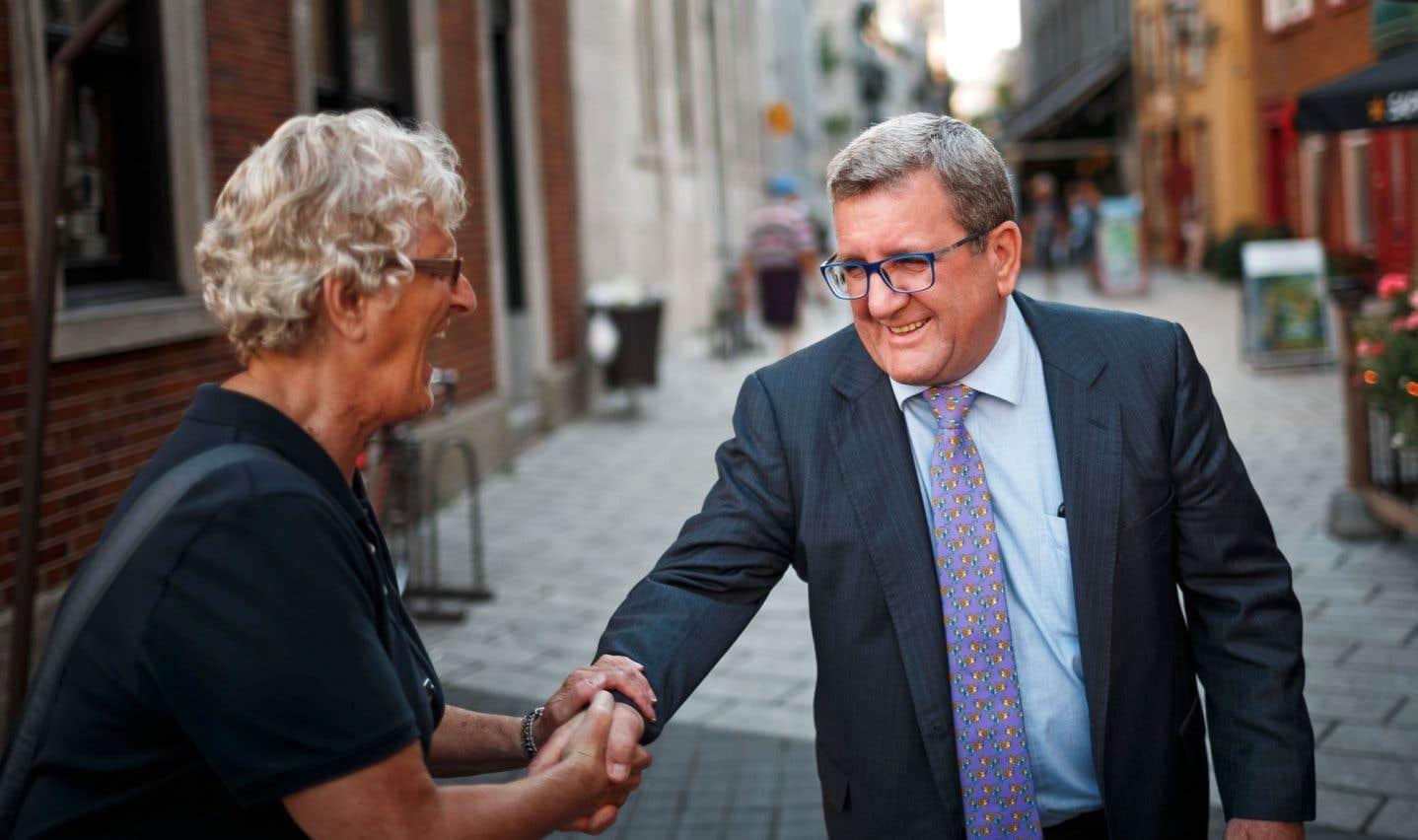 Régis Labeaume se fait le promoteur du transport en commun, sans projet précis