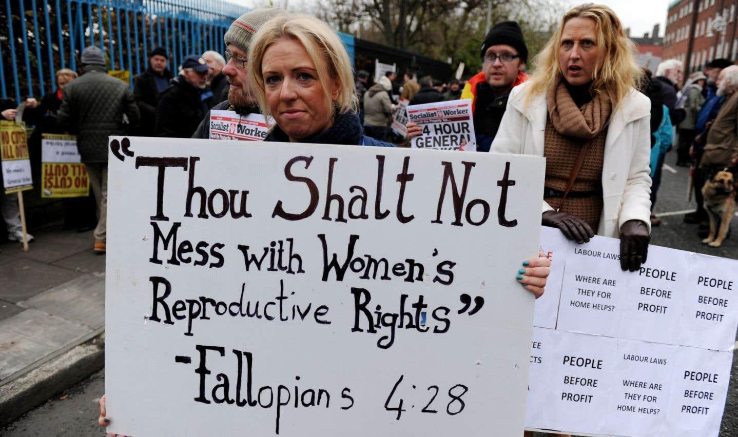 L'Irlande organisera un référendum sur l'avortement au printemps2018
