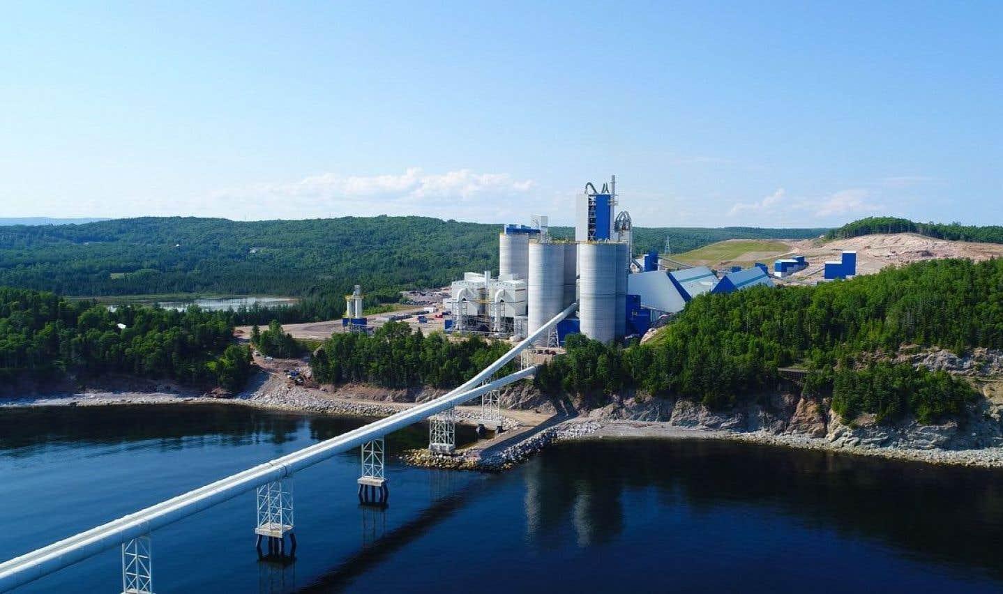 Contrairement à ce qui avait été avancé au moment du développement du projet, Ciment McInnis ne cible pas en priorité l'exportation de sa production vers les États-Unis.