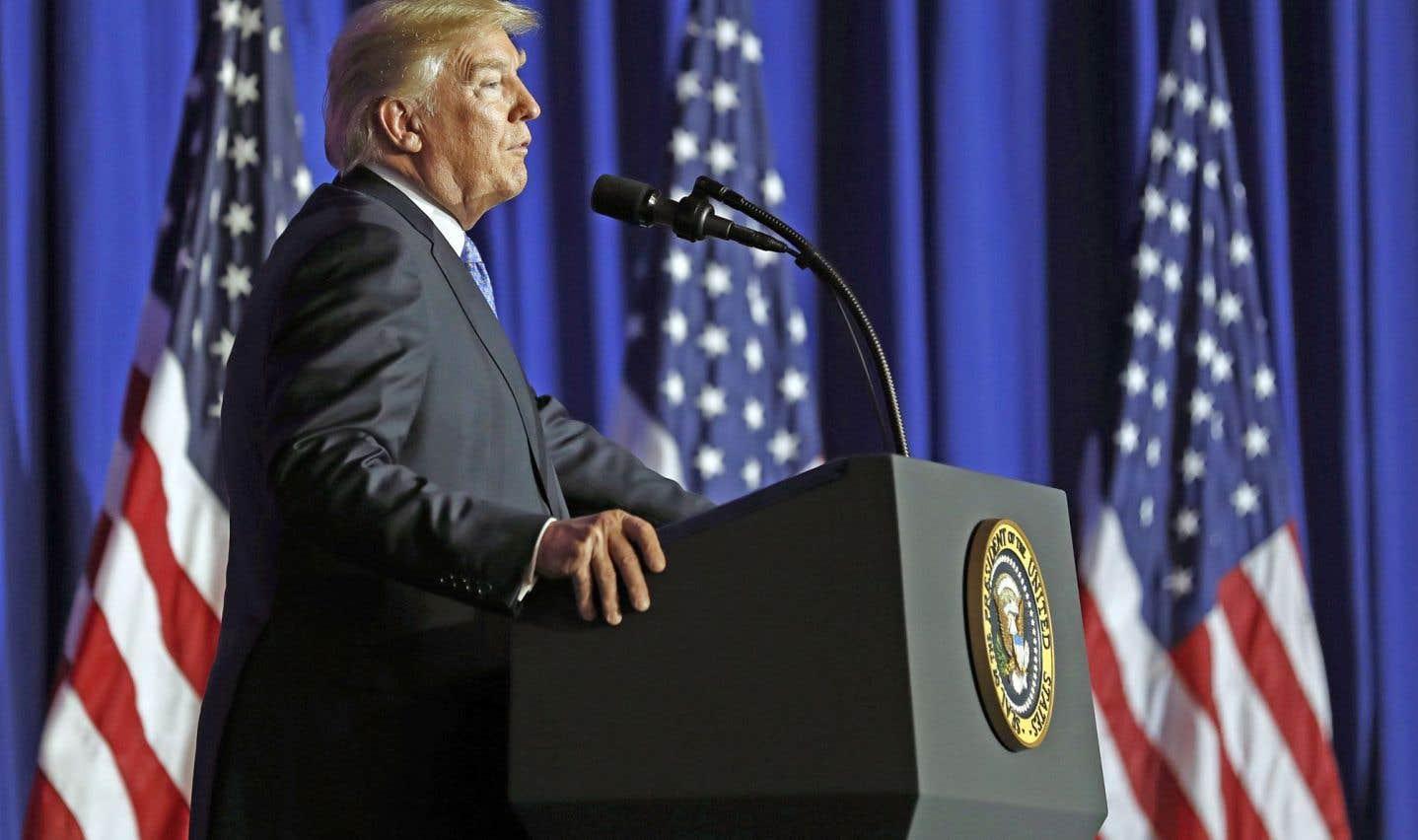 Trump et les républicains lancent leur projet de baisse historique des impôts