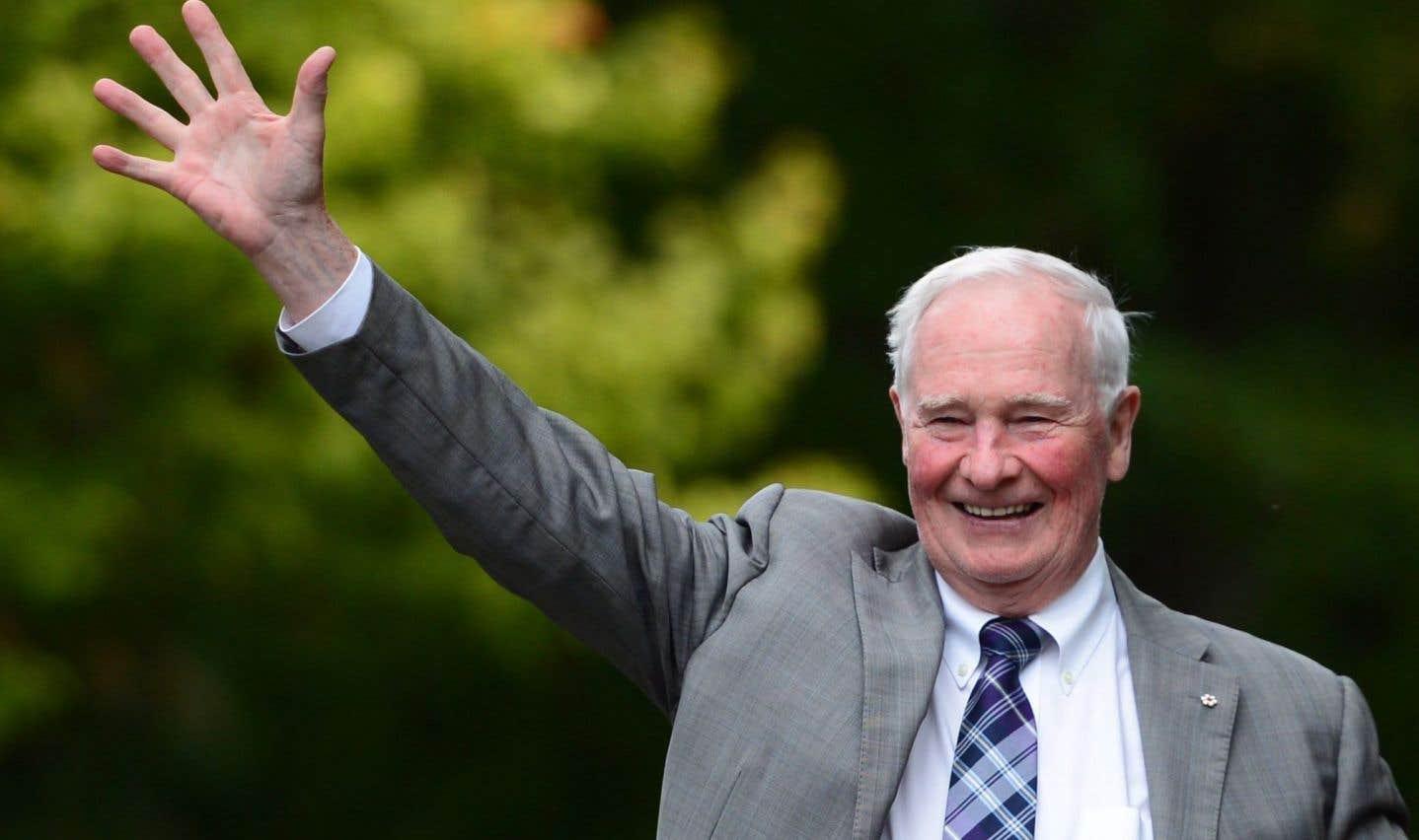 David Johnston fait ses adieux au poste de gouverneur général