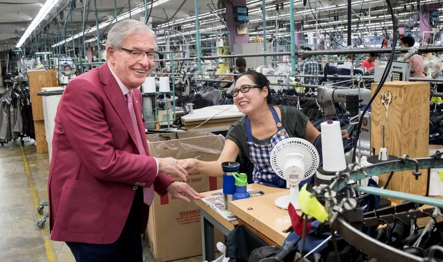 «Les gens sont heureux de travailler pour moi», dit Alvin Cramer Segal.