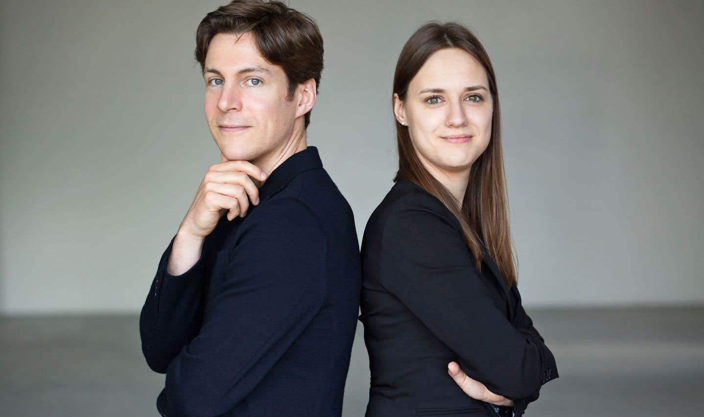 Maxime Goulet et Dina Gilbert