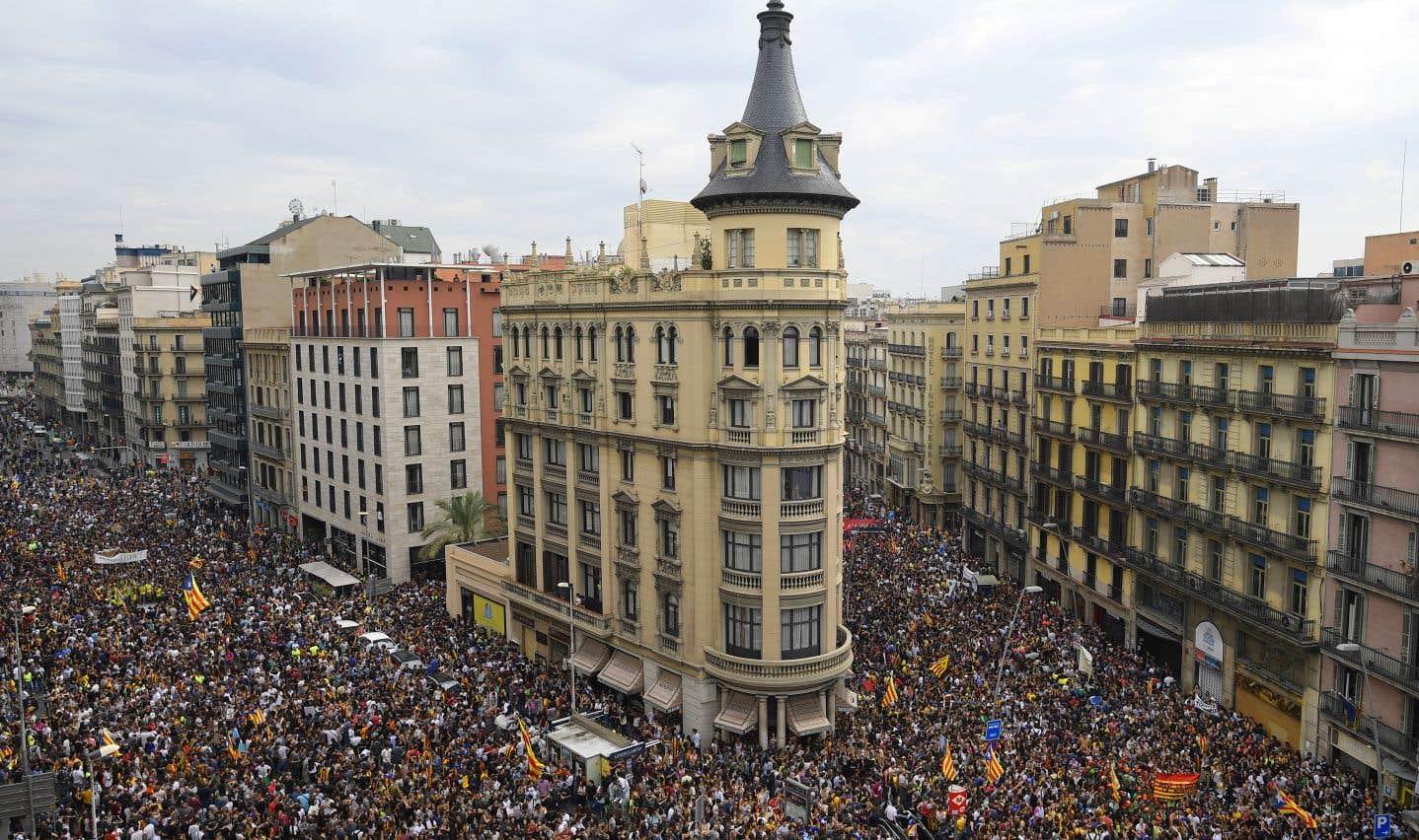La Catalogne unie contre la violence