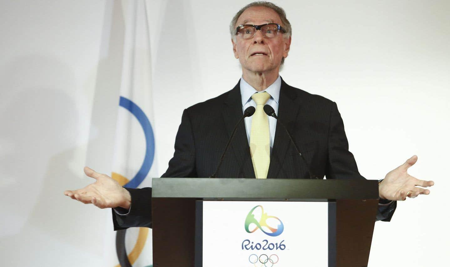 L'ancien président du comité olympique brésilien Carlos Nuzman