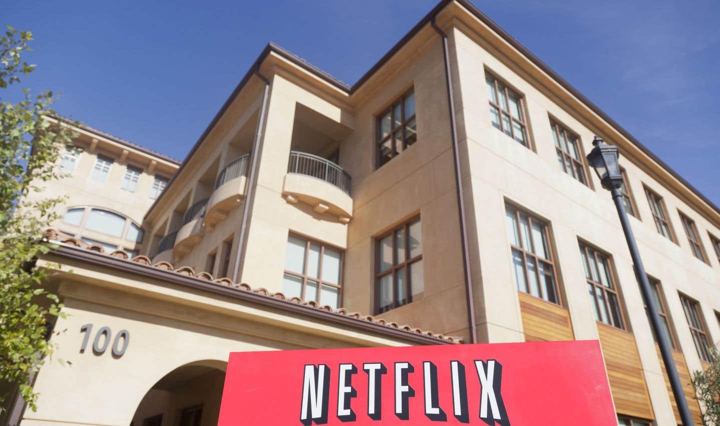 Netflix défend son investissement au Canada