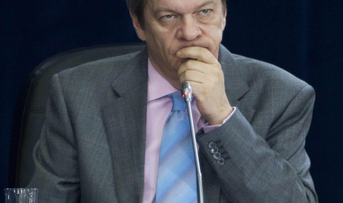 Le commentateur politique Luc Lavoie