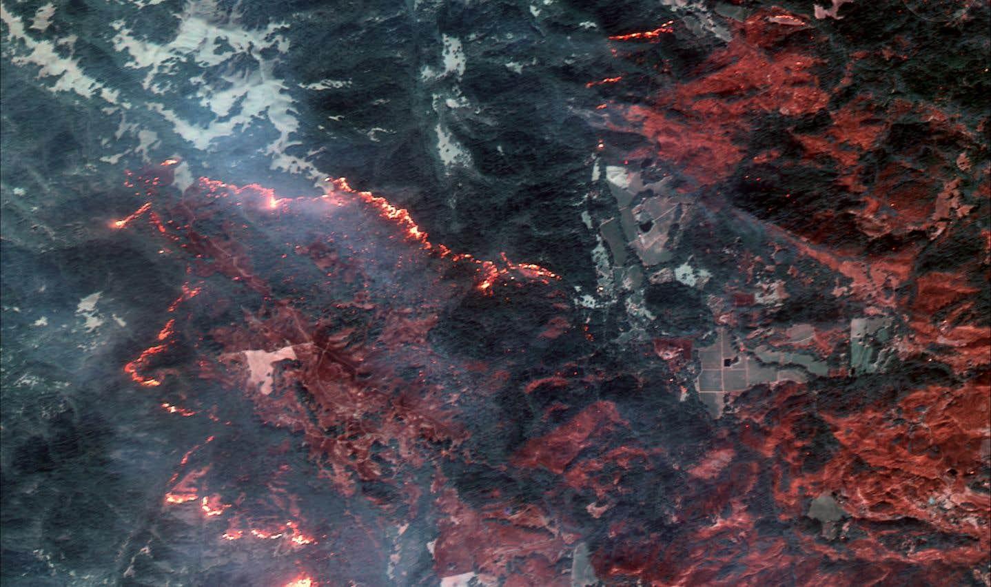 La ville de Santa Rosa brûle, 10 octobre 2017