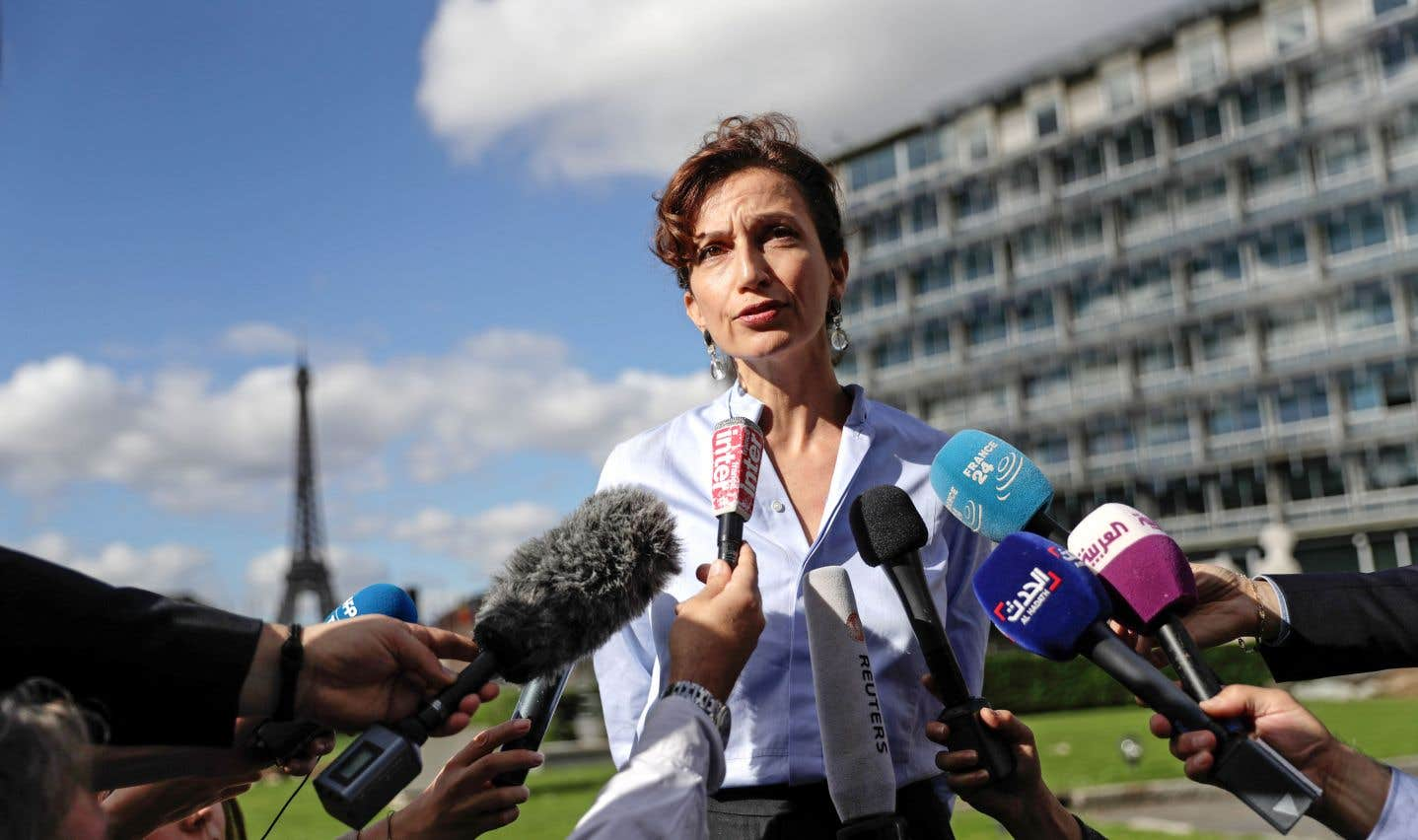 La Française Audrey Azoulay prend les rênes de l'UNESCO sur fond de crise