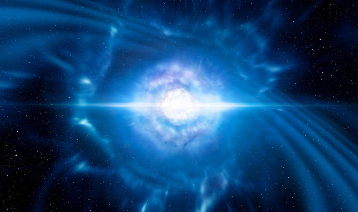 La fusion de deux étoiles à neutrons a été observée et décortiquée pour la première fois.