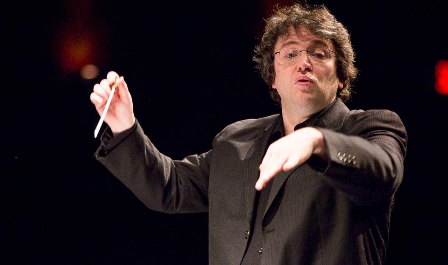 Alain Trudel, nouvellement nommé directeur du Toledo Symphony Orchestra en Ohio