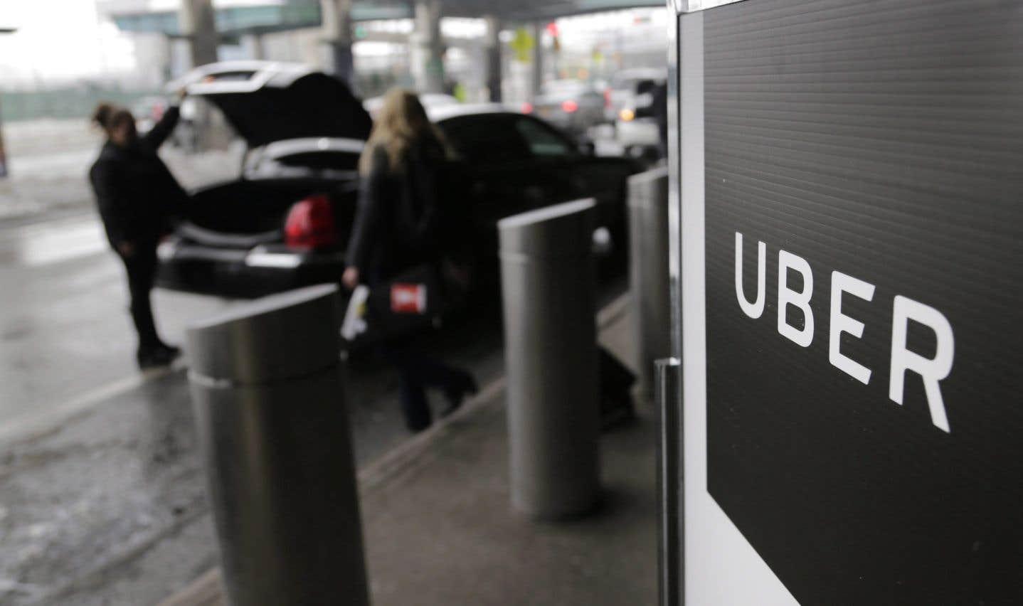La sécurité des passagers Uber inquiète les taxis