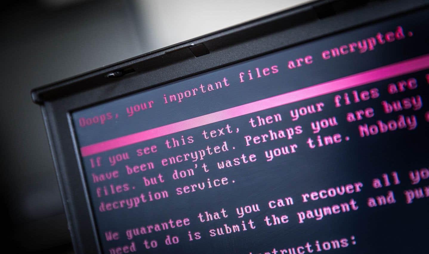 Fin juin, la cyberattaque NotPetya, qui avait commencé en Russie et en Ukraine, avait touché des milliers d'ordinateurs dans le monde.