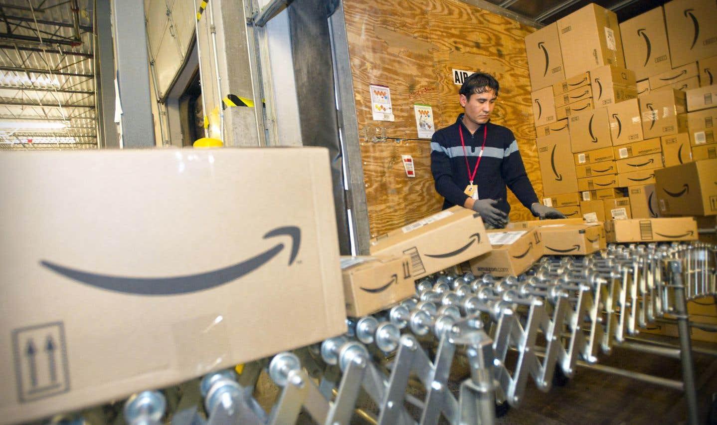Amazon a publié jeudi un bénéfice net en hausse à 256 millions, soit 52 ¢US par action, pour le trimestre clos au 30 septembre.