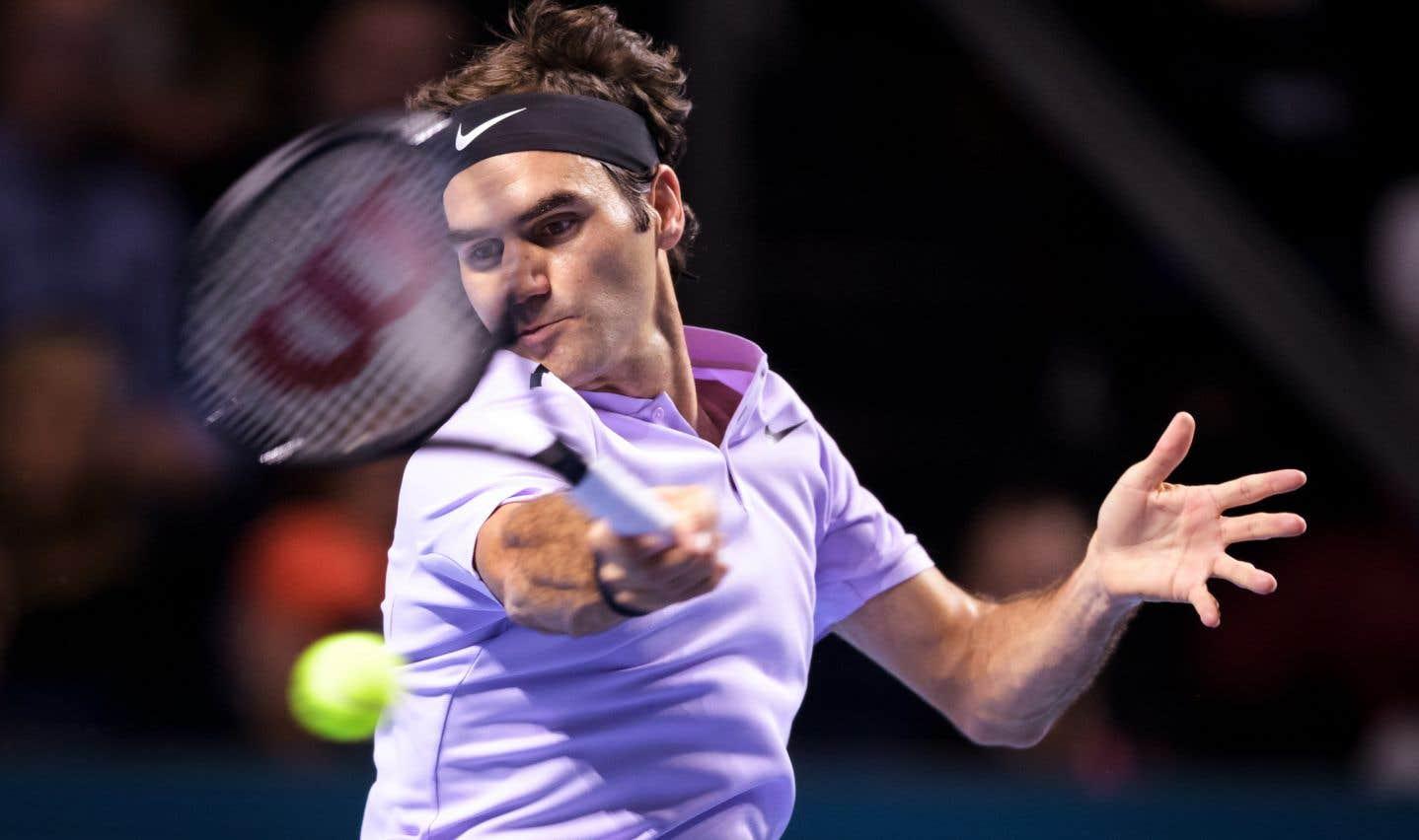 Roger Federer gagne pour la huitième fois à Bâle, sa ville natale