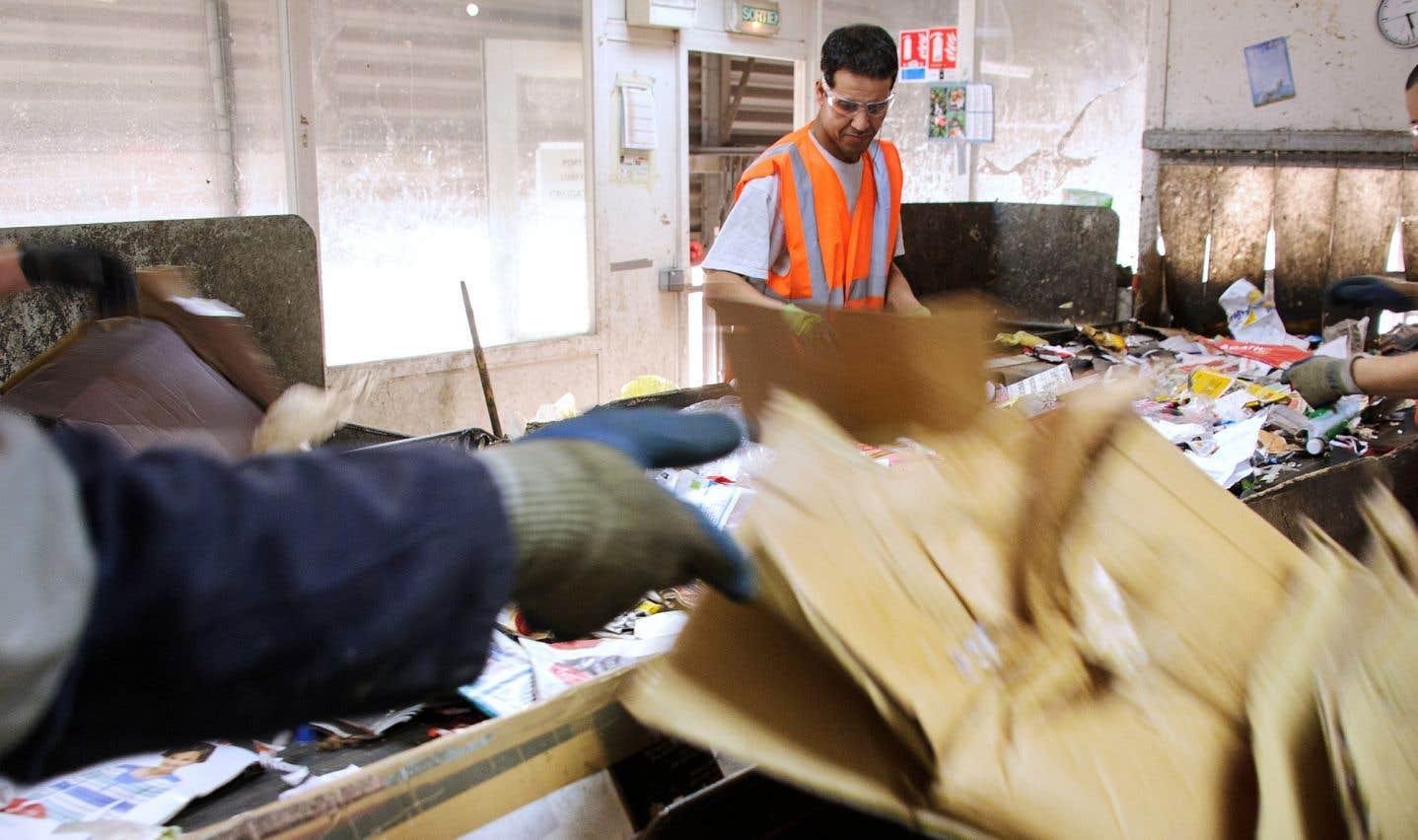 Le recyclage au bord de la crise