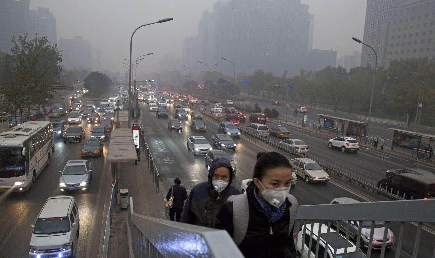 Selon l'agence de l'ONU, la teneur en CO2 dans l'atmosphère terrestre est revenue au niveau d'il y a 3 à 5millions d'années.