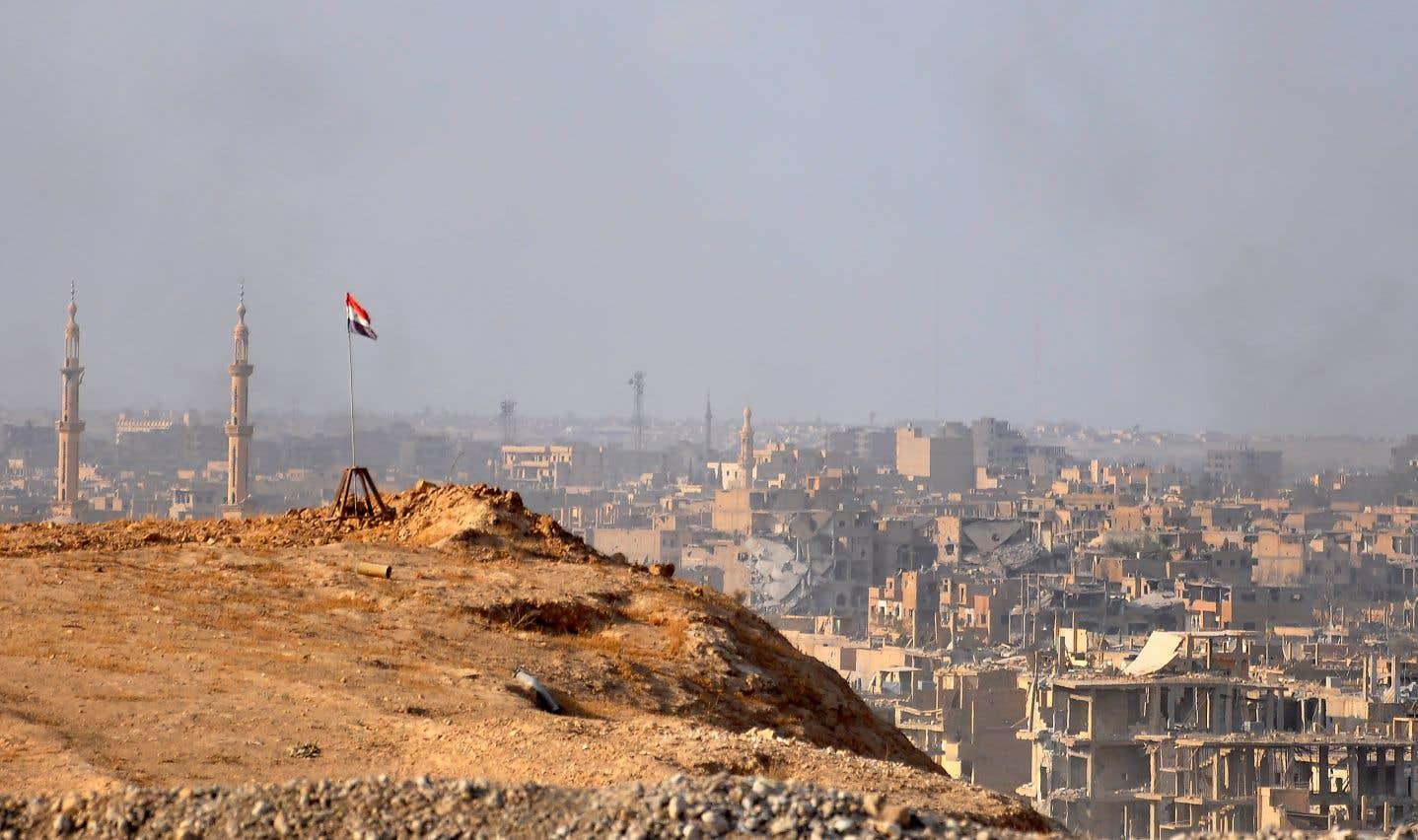 L'armée syrienne reprend le contrôle de Deir Ezzor