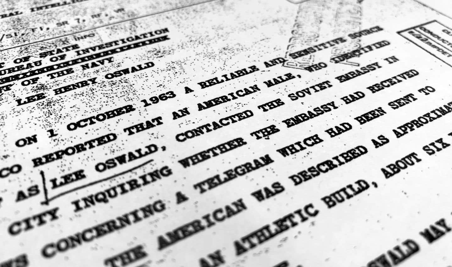Nouveau dévoilement d'archives concernant l'assassinat de JFK
