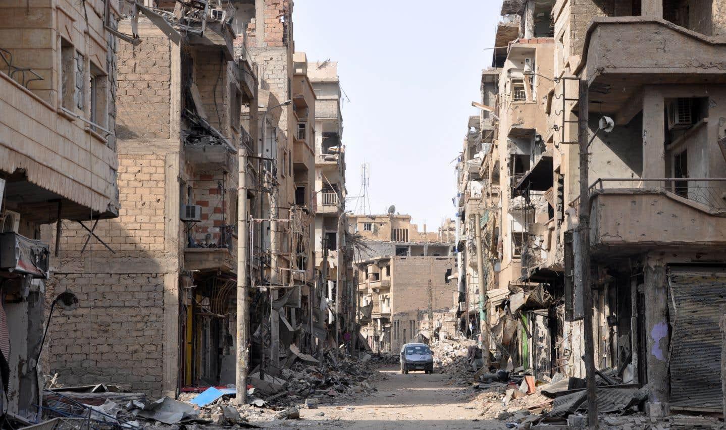 Un attentat du groupe EI fait des dizaines de morts en Syrie