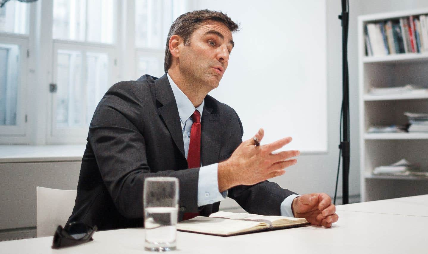 Jean-François Gosselin, chef de Québec 21
