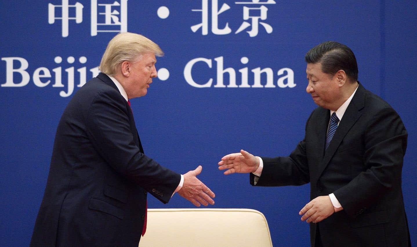 Trump fait le plein d'accords commerciaux à Pékin