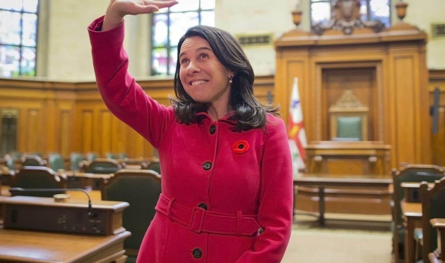 La mairesse Valérie Plante: un sourire qui dit «authenticité» et «ouverture», nouveaux mantras de la politique de proximité qui risquent de faire école.
