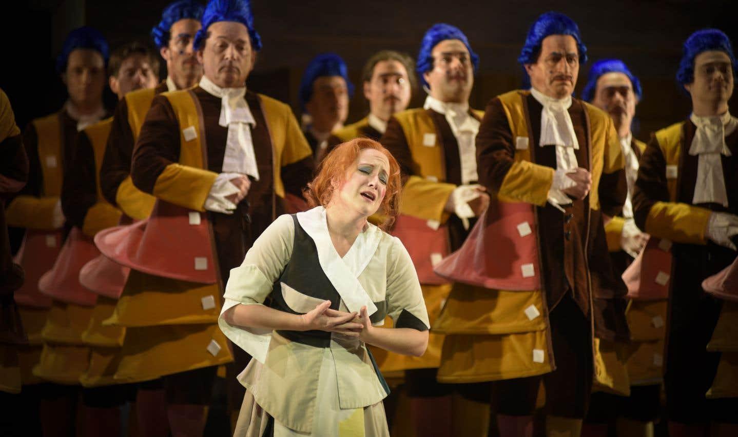 Julie Boulianne chante Rossini à Montréal