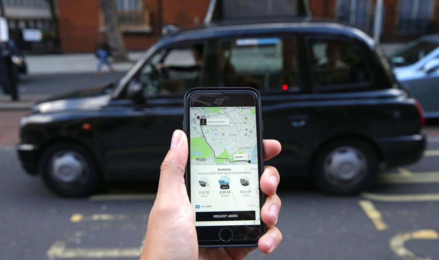 Uber doit payer ses chauffeurs au salaire minimum à Londres