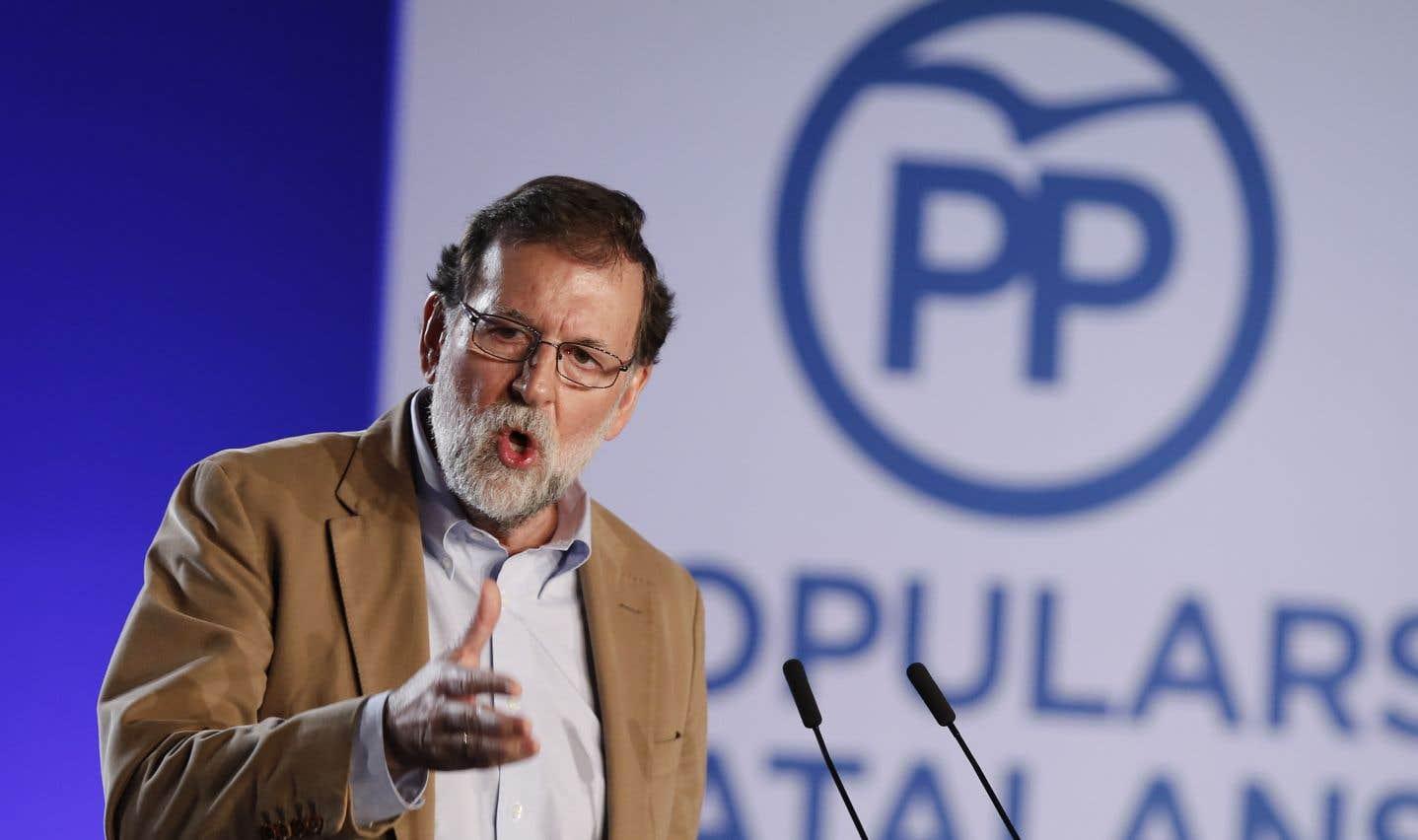 Mariano Rajoy interpelle la «majorité silencieuse» catalane