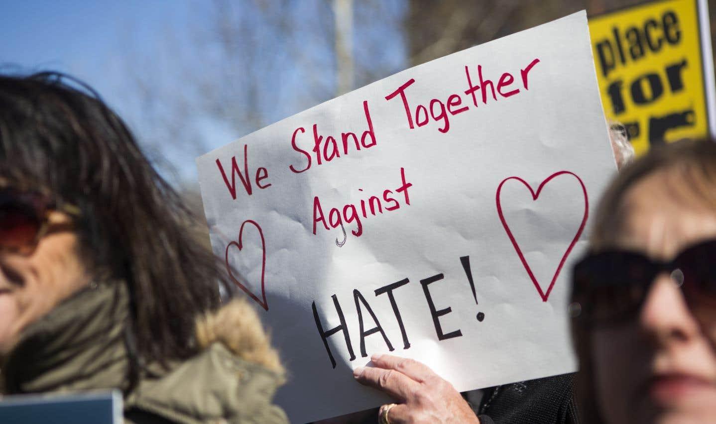 Six victimes sur 10 ont été ciblées en raison de leur race. Mais les crimes motivés par la haine d'une religion ont également connu une hausse en 2016.