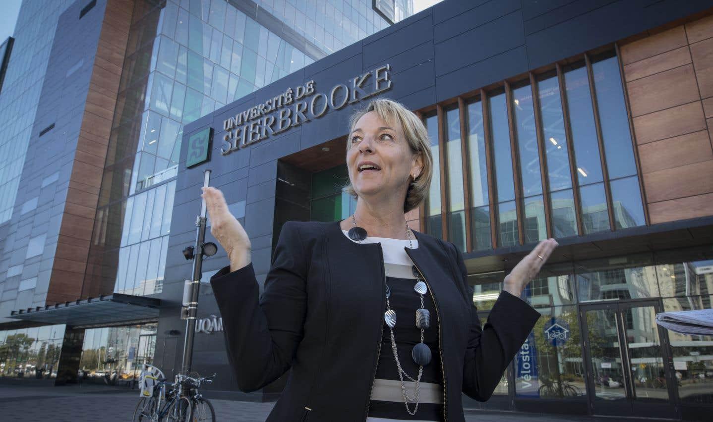 La candidate Sylvie Parent a été élue à la mairie de Longueuil avec une avance de 118 voix le 5 novembre denier.