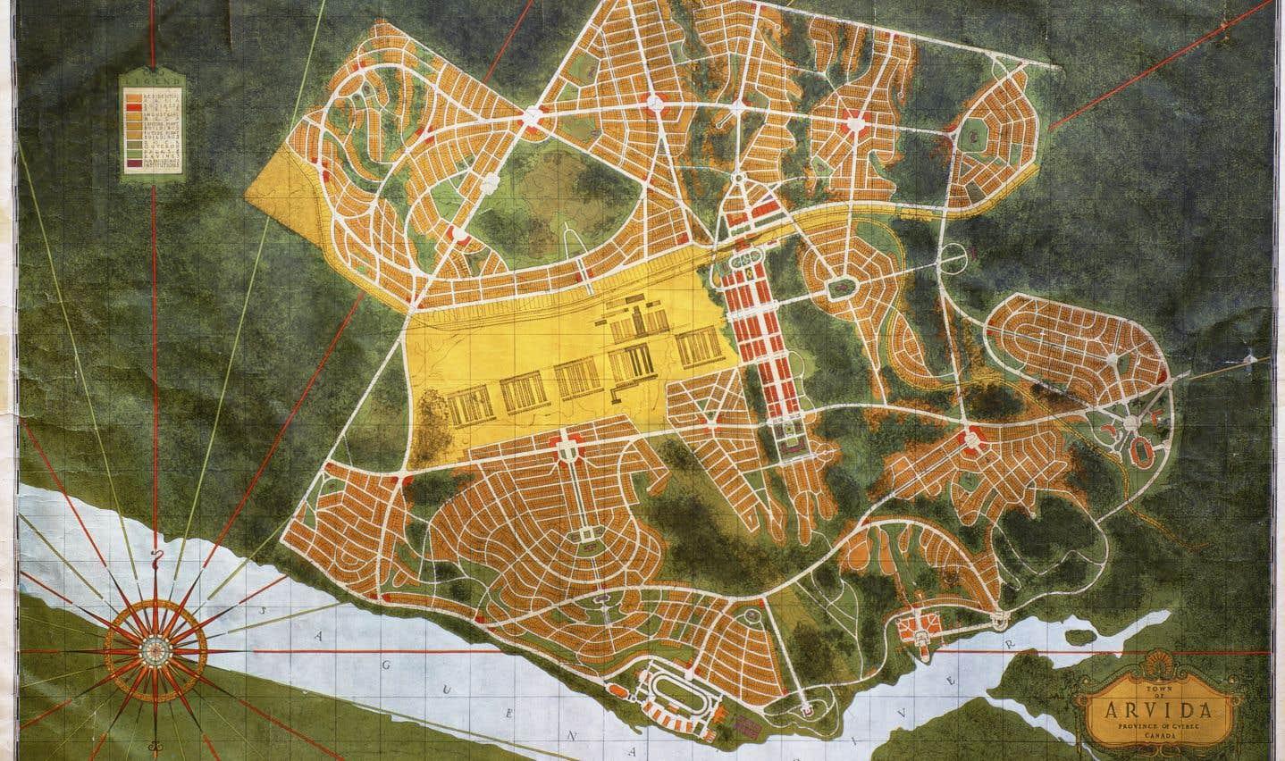 Les concepteurs d'Arvida voulaient créer une ville industrielle unique axée sur l'égalité et la qualité de vie. Une démarche d'avant-garde pour les années 1920.