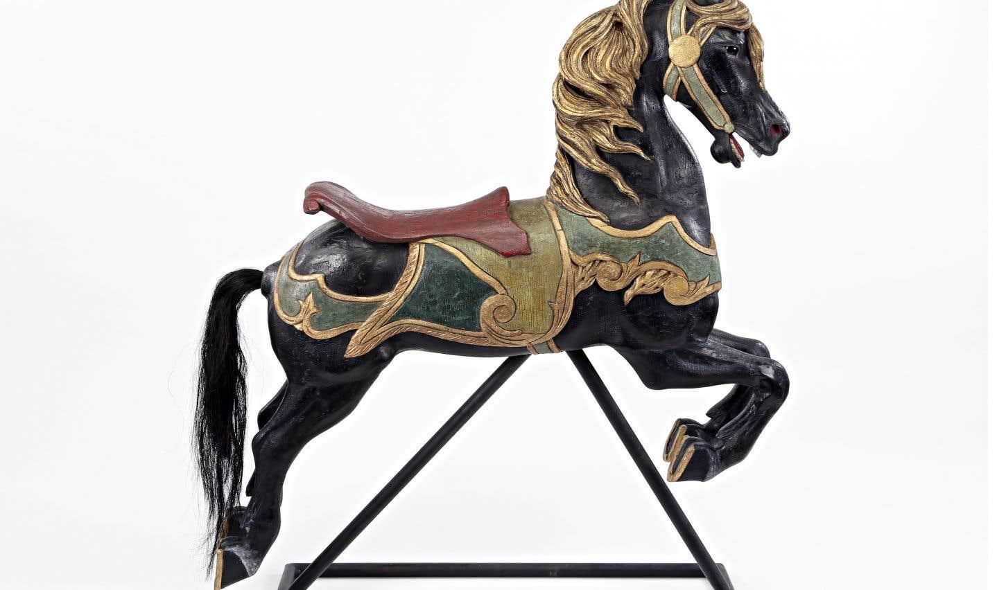 Cheval de carrousel (1900-1950)