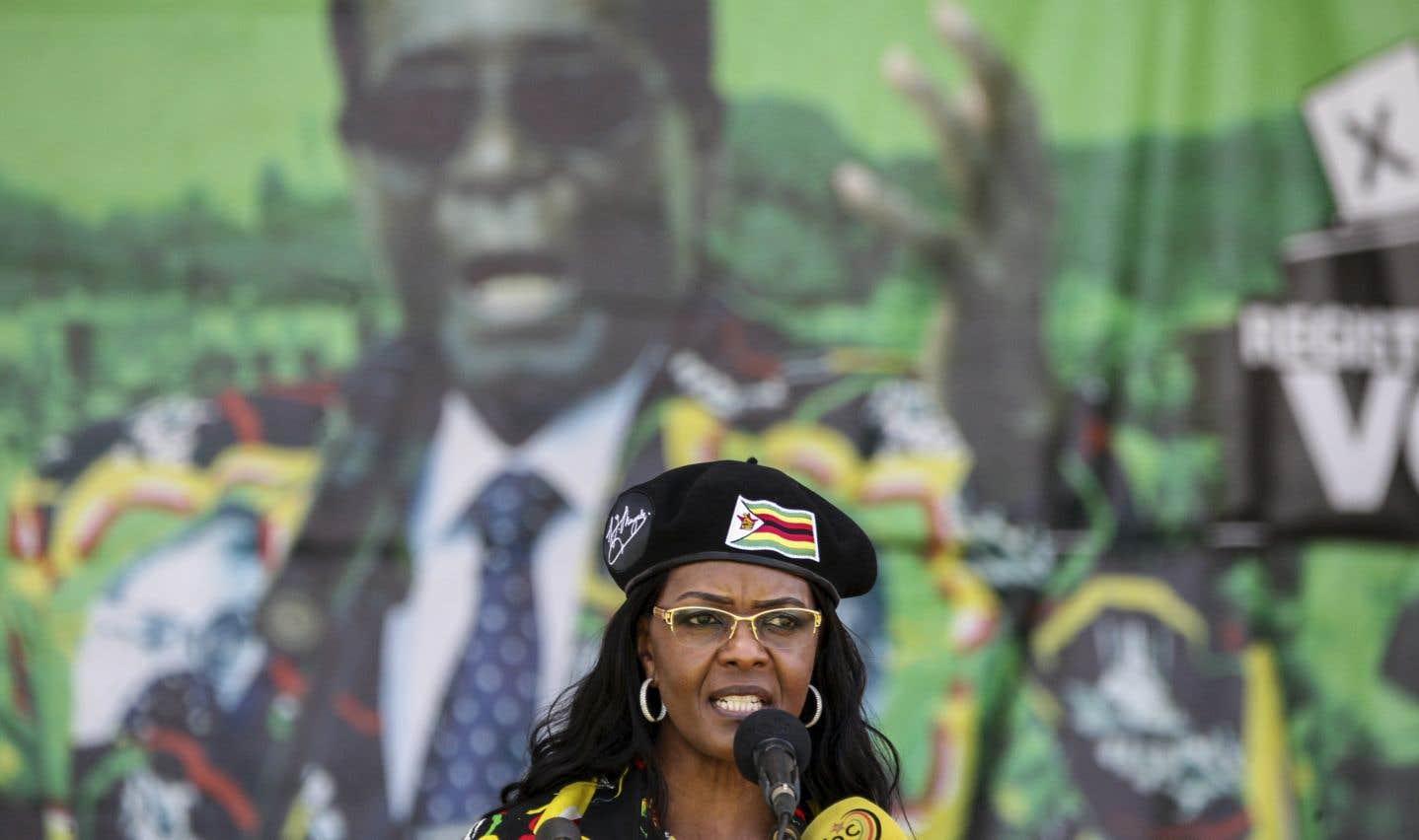 Depuis des semaines, Grace Mugabe ne faisait plus mystère de son ambition de succéder à son mari.