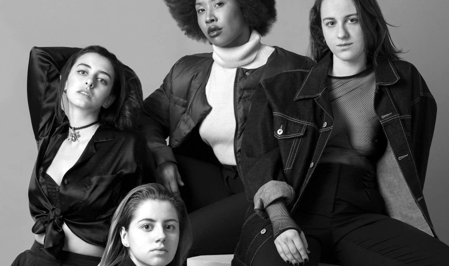 Les quatre musiciennes de Bad Nylon sont des pionnières du rap québécois.